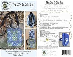 The Zip & Clip Bag Pattern (ATB-144)