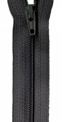 Atkinson Designs Zipper 22 in. Charcoal Grey ATK-709