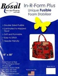 In-R-Form Plus Double Sided Fusible Foam Stabilizer yardage