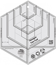Quilt Ruler Hexagon Trim