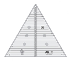 "Creative Grids #CGRT12560 12- 1/2"" 60 Degree Triangle Ruler"