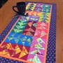 Wild and Free Table Runner Pattern CUT LOOSE PRESS