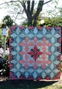 The Lattice Star Quilt Pattern Cut Loose