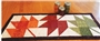 Seasonal Runner - Fall Table Runner Pattern x Cut Loose patterns