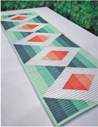 Aztec Diamond Table Runner Krista Moser Cut Loose