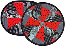 Twist N Twirl Placemat Pattern