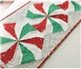 Peppermint Twist Table Runner