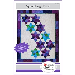 Sparkling Trail Quilt Pattern Canuck Quilter