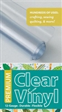 Clear Vinyl / Quilters Vinyl 1.5yd Roll