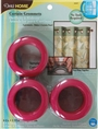"Grommets 1-9/16"", Bright Pink 8ct  Bag Hardware"