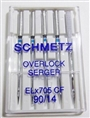 Schmetz Serger Chrome sz90 5-pack