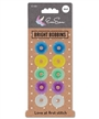 !0 pk Colored Plastic Bobbins Eversewn