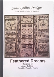 Feathered Dreams by Janet Collins Designs Quilt Book