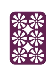 Gemini Multi Media Fabric Die  Decorative Daisy Panel