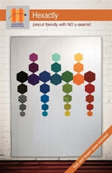 Hexactly Quilt Pattern by Hunter's Design Studio