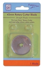June Tailor Straight Rotary Cutter Blade- Fleece With Flair 45mm