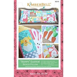 Hoppy Easter Bench Pillow Sewing Pattern
