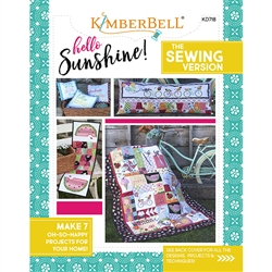 Hello Sunshine Sewing Pattern Kimberbell Designs #KD718