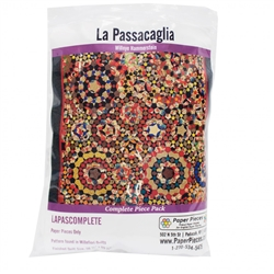 La Passacaglia Paper Pieces found in Millefiori Quilts Book