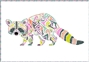 Reginald Raccoon Laser Cut Kit Tula Pink