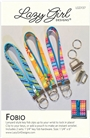 Fobio Lanyard key Fob Pattern and Hardware Lazy Girl