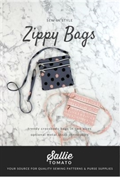 Zippy Crossbody Bag Pattern Sallie Tomato