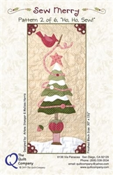 Ho Ho Sew Pattern 2  Sew Merry The Quilt Company