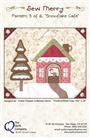 Snowflake Café, Pattern 3 Sew Merry The Quilt Company