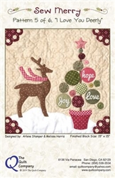 Frosty's Tree Farm, Pattern 4 Sew Merry The Quilt Company