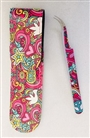 Psychdelic Tweezers with Pouch 5""