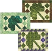 Calendar Placemats by Nancy Dill/Quiltwoman - March Shamrock