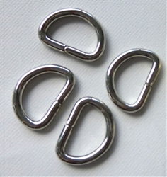 D-rings,1/2in Nickel