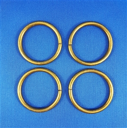 O-Rings Antique Brass