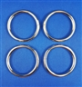 O-Rings Silver Nickel