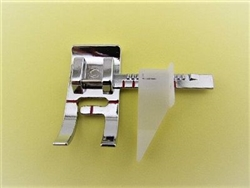 "Adjustable Guide Presser Foot for accurate seams of 3/8"" to 1 1/2"" and straight topstitching P60784"