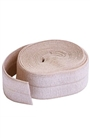 Fold-over Elastic natural 2yds
