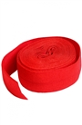 "Atom Red Pumpkin Fold Over Elastic 5/8"" x2 yd"