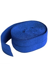 Fold-over Elastic - 7/8in x 2 yard - Blast Blue