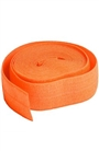 "Pumpkin Fold Over Elastic 5/8"" x2 yd"