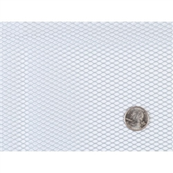 "Mesh Fabric LightWeight Pewter 18"" x 54"" byannie"