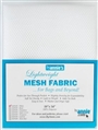 "Lightweight Mesh Fabric 18"" x 54"" - White"