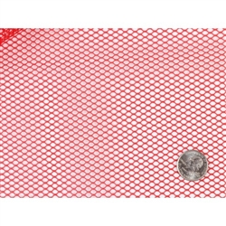 "Lightweight Mesh Fabric 18"" x 54"" - Atom Red  Patterns by Annie"