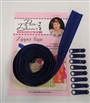 3 yds Zipper Tape Royal Blue