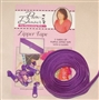 3 yds Zipper Tape Purple