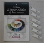Zipper Slides White Decorating Diva