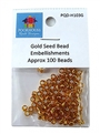 Gold Seed Bead Embellishments