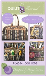 The Tool TOTE Pattern - Includes Bag Stays!  PSO54