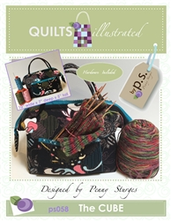 The Cube Bag Pattern PS058: Quilts Illustrated