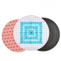 Round-about Turntable 3 pc Cutting Mat -Rotating