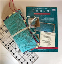 Quilted Ruler Roll Instruction Booklet by Angela Attwood